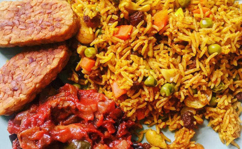 Orientalischer Reis aus dem Reiskocher